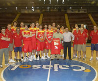 Spain National Team 2008 Beijing List