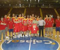 Spain National Team 2008 Beijing List