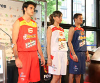 Spain Basketball National Team 2008 Olympic Jersey