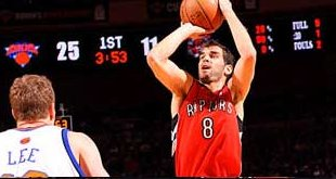 Jose Calderon Breaks NBA Free Throw Record