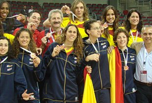 Spain Women Bronze Medal Eurobasket 2009