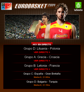 Watch Eurobasket Live and Free