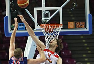 Spain Struggles To Beat Great Britain