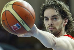 Pau Gasol Named 2009 FIBA Player of the Year