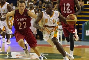 Canada Fought Hard For Victory Over the Ivory Coast In Spain 92-95