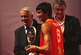 Ricky Rubio Named FIBA Youth Player of the Year – 3rd Year In A Row