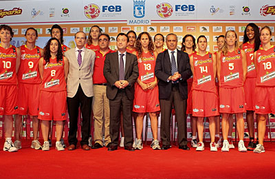 Spain Women's 2010 Basketball Squad Announced