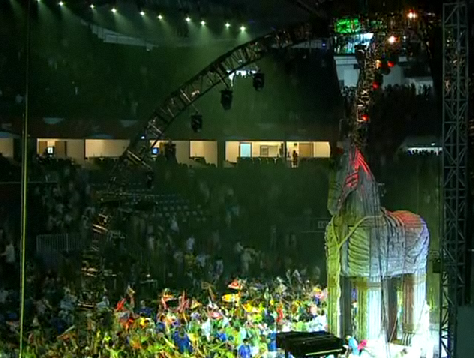 Opening Ceremony Turkey 2010 World Basketball Championships