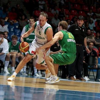 Lithuania Surprises Slovenia In Vitoria Tournament 86-84