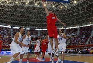 Spain Outcasts Argentina 83-76 In Outdoor Game In Logroño