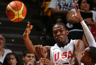 USA Sloppy Start Manages To Ease Pass Lithuania 77-61