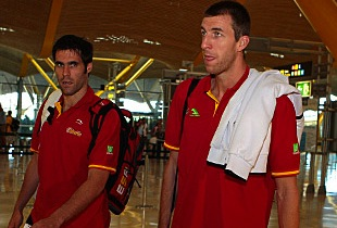 Spain Men Start Journey To Turkey For The Gold