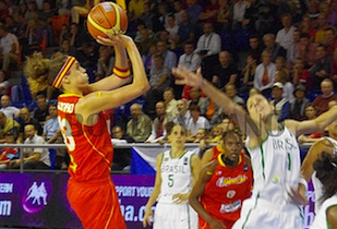 Spain Women Stay Undefeated With Win Over Brazil to Start Next Round
