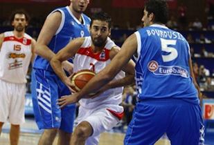 Spain Will Face Greece In First Game of Next Round
