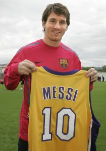 Messi Lakers Jersey