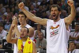 Spain Oust Greece 80-72, Will Face Serbia