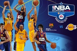 FC Barcelona To Face Lakers In NBA Europe Live