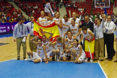 Spain Win Bronze Medal 2010 Championships Over Belarus 77-68