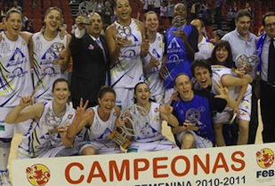 Perfumerías Avenidas 2011 Champions of LF, Third Title of the Year