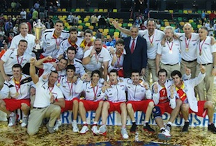 Spains Men U20 Defeat Italy To Take Home The Gold at Championships