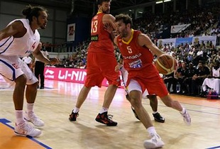 Spain Debuts Friendly Game With Win Over France 76-53