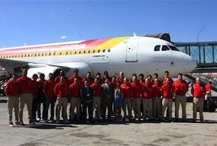 Spain's National Team Arrives in Lithuania