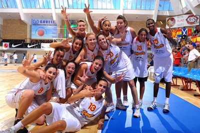 Spain's U18 Women's Takes Home Bronze Medal in Championships
