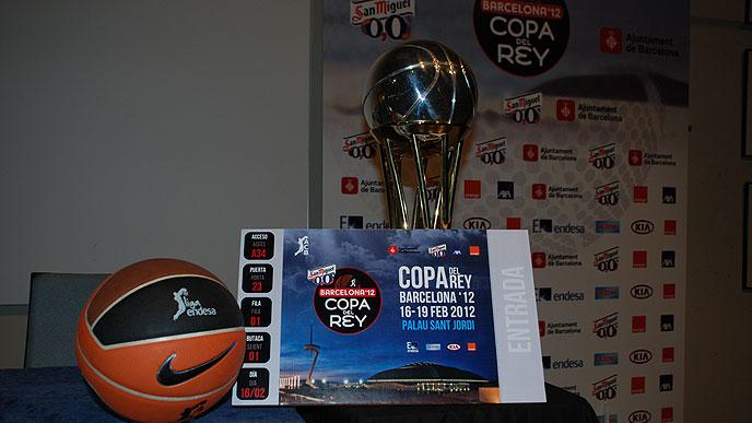 ACB Copa Del Rey 2012 Barcelona & Tickets