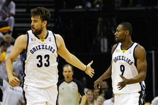 Marc Gasol Renews Contract With Memphis 2012