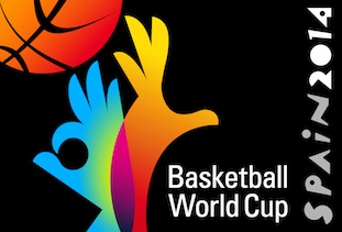 2014 Spain World Basketball Cup Logo