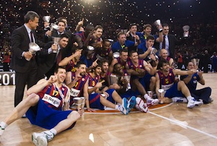 FC Barcelona Heads To Euroleague Final Four