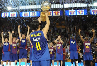 FC Barcelona Wins 2012 ACB Championship Over Real Madrid