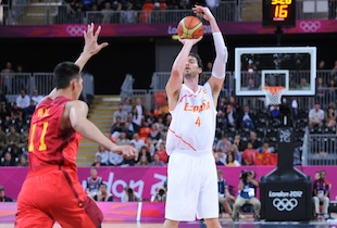 Spain Pulls Away in 4th Quarter For First Win Over China 97-81