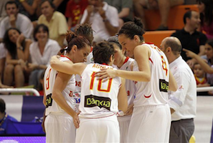 Spain Women's National Team Qualifies For France Eurobasket 2013