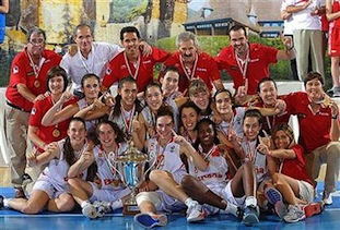 Spanish Basketball Summer of Medals 2012