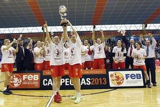 Rivas Ecopolis Wins Copa de la Reina over Avenidas 83-62