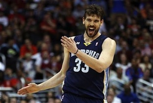 Marc Gasol Wins NBA Defensive Player of the Year Award