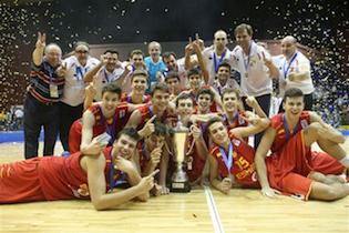 U16 Men Win European Championship In Epic Game Over Serbia 65-63