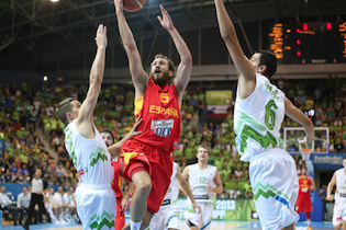 Spain Absorbs Huge 78-69 Upset Loss Against Host Slovenia In EuroBasket Men 2013