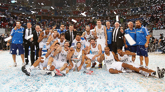 Real Madrid Wins 2014 Kings Cup Title With Last Second Shot By Llull