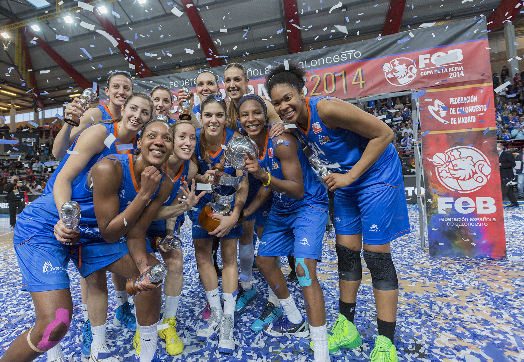Avenidas Wins Copa de la Reina in Thriller Overtime Against Rivas