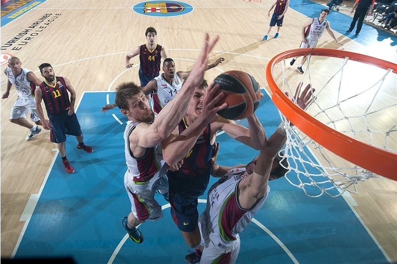 FC Barcelona & Real Madrid Euroleague Playoff Schedule