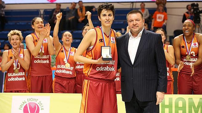 Galatasaray Wins Euroleague Womens Championship While Torrens Earns MVP Honors