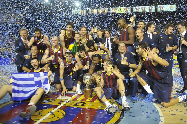FC Barcelona Wins 2014 ACB Finals 83-81 Over Madrid