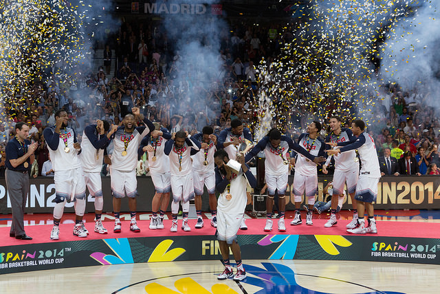 USA Wins 2014 FIBA Basketball As Host Spain Falters In Quarterfinals Against France