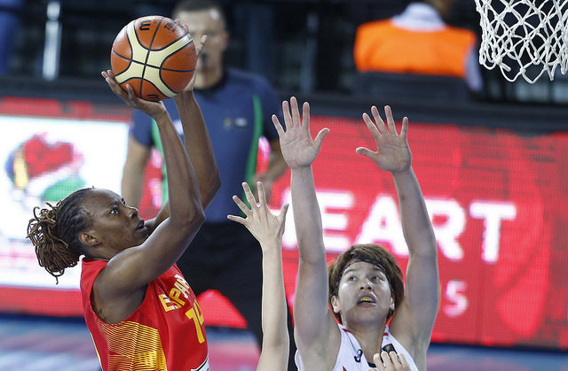 Spain Charges Into World Cup With Easy Victory Over Japan 74-50