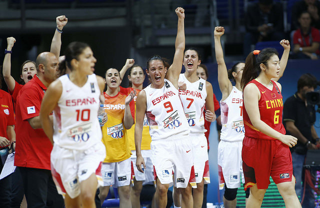 Spain Defeats China 71-55 To Make World Cup Semis