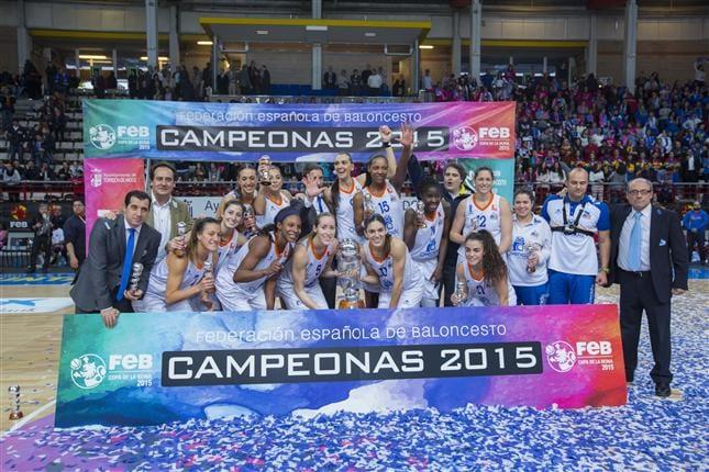 Perfumerías Avenidas Wins 2015 Copa de la Reina 66-62 Over Conquero Wagen