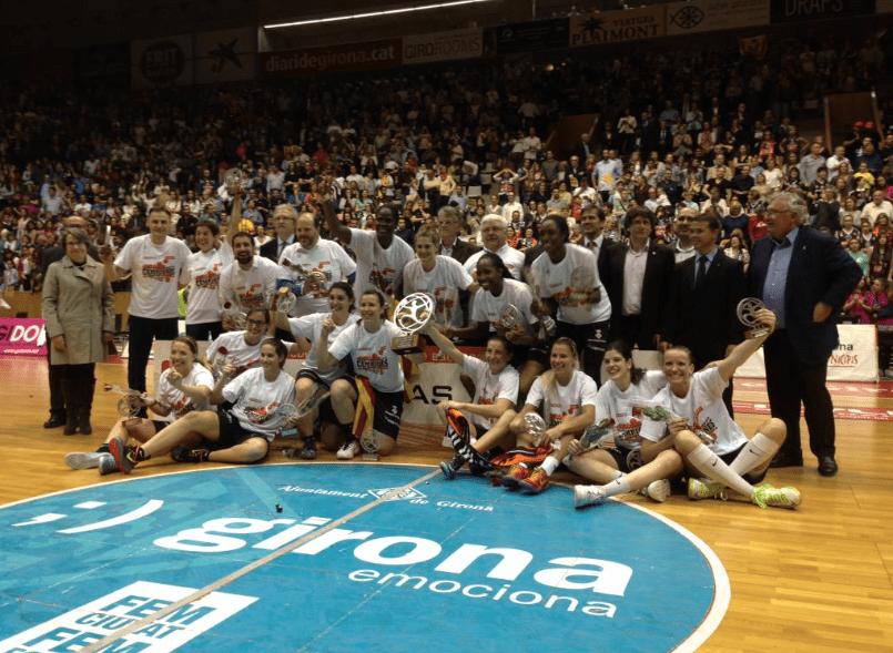 Spar Citylift Girona Demolishes Avenidas in Final to Win LF Championship