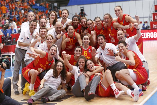 Spain Finishes with Bronze in Eurobasket 2015 Championship